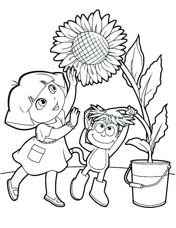 612x792 Dora Coloring Pages Free Coloring Pages The Explorer Color Pages