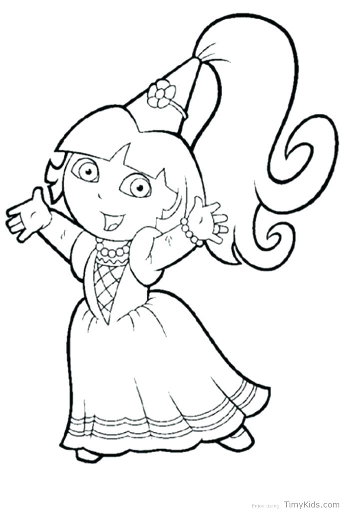 691x1024 Dora Coloring Games Coloring Explorer Coloring Pages Emon