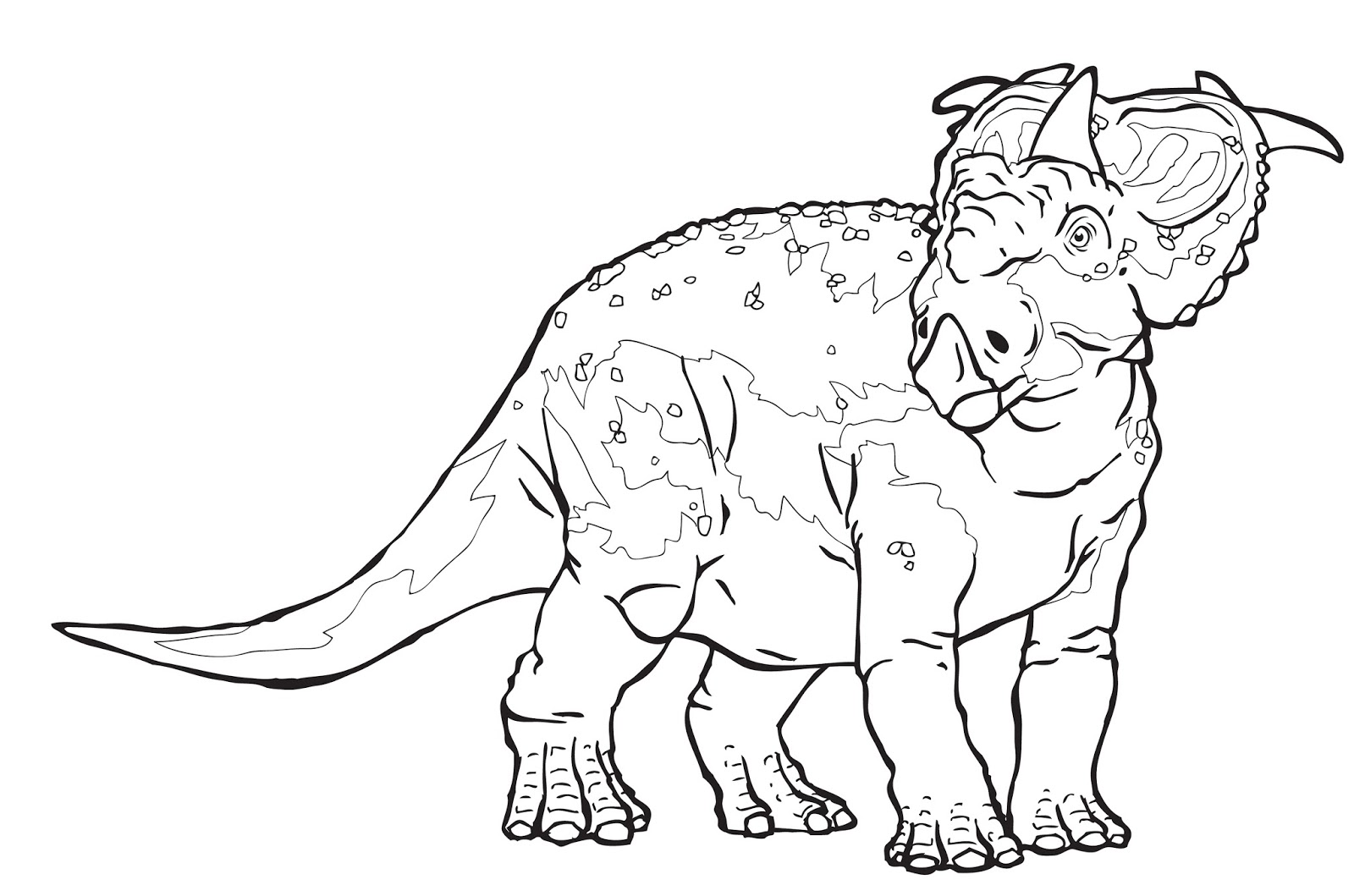 1600x1059 Extinct Animal Coloring Pages