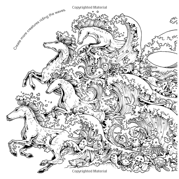 600x600 Animorphia An Extreme Coloring And Search Challenge Kerby