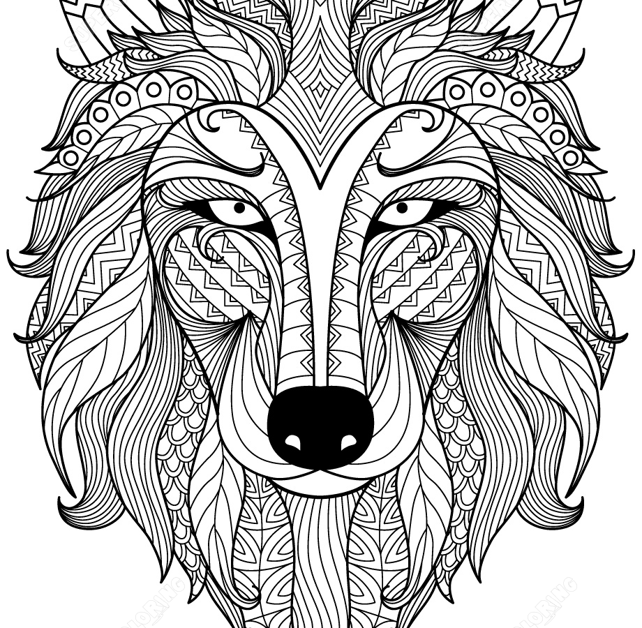 920x900 Dragon Zentangle Coloring Page Free Printable Extreme Pages
