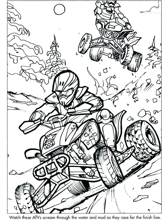 564x740 Sports Coloring Pages Sample Pages From Extreme Sports Coloring