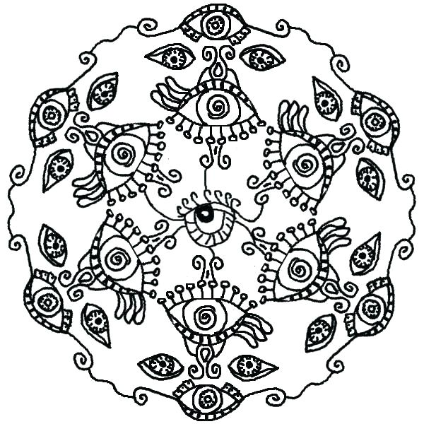 600x600 Eyeball Coloring Pages Eye Coloring Page Eyeball Coloring Pages
