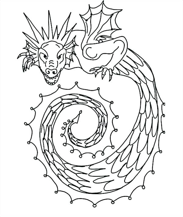 600x712 Eyes Coloring Page Snake Coloring Pages Dragon Snake Coloring Page