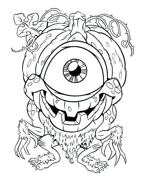 600x769 Eye Coloring Page Giants Eye Brawl Coloring Pages Eyes Print Evil