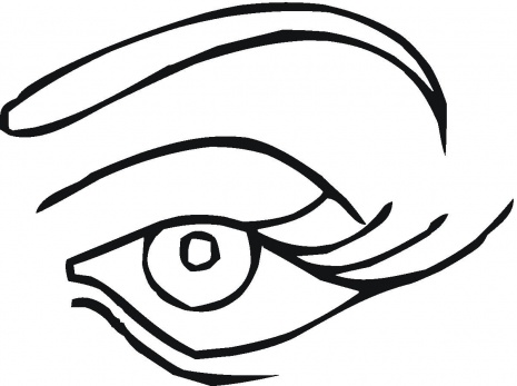 465x347 Eye Coloring Pages
