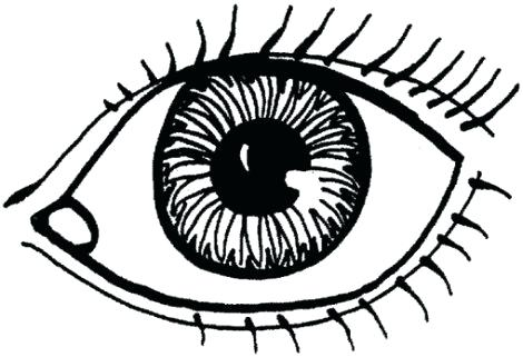 470x321 Eyeball Coloring Pages Eye Coloring Pages Eyeball Coloring Page