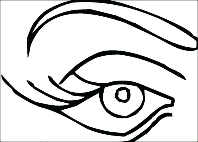 644x462 Inspirational Senses Coloring Pages For Eyes Coloring Pages