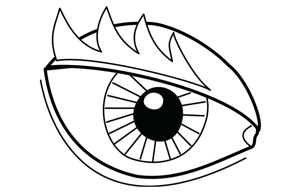 975x620 Eyeball Coloring Page Eye Coloring Page Download Large Image I Spy