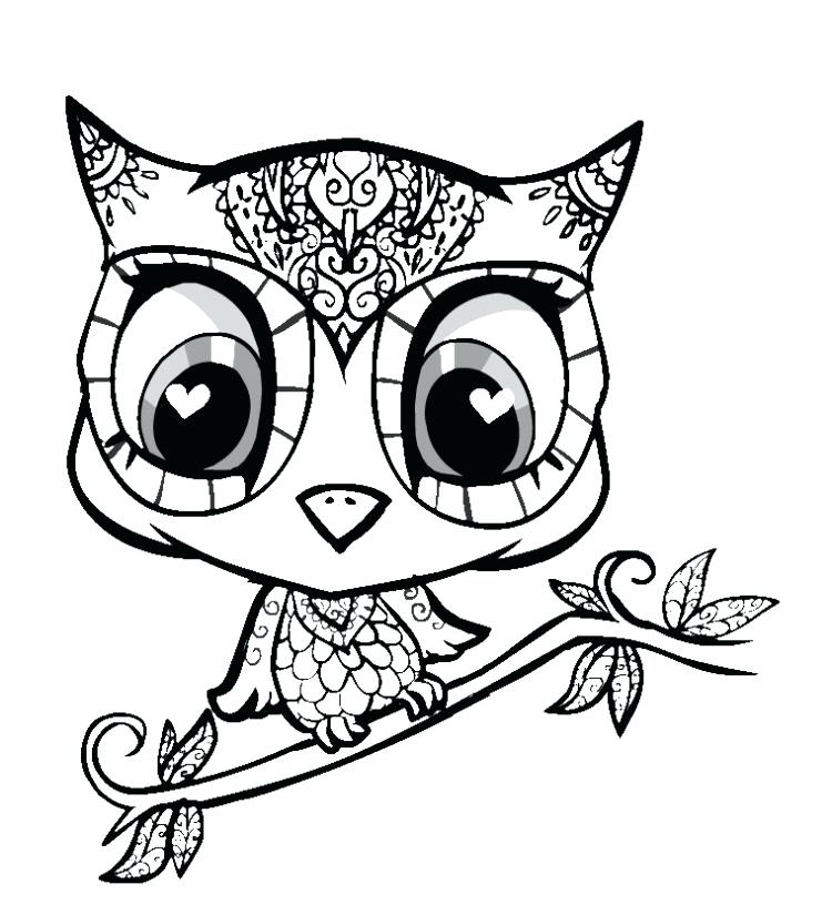 750x825 Eyes Coloring Pages Creative Cute Animal Coloring Pages Cute