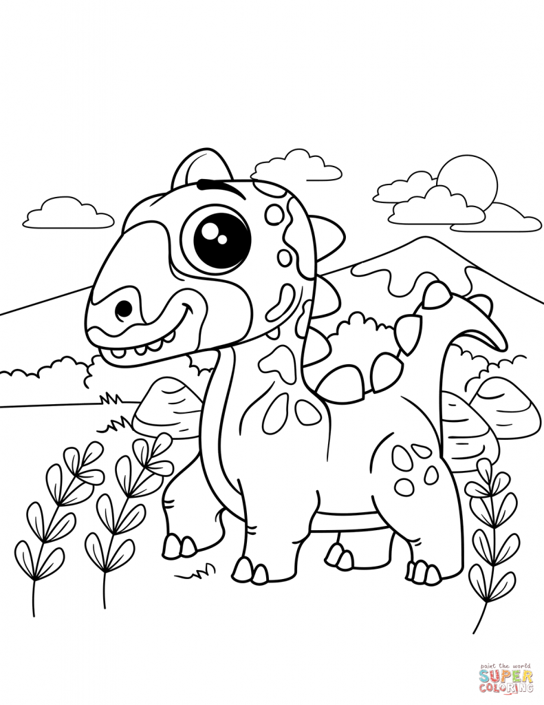 791x1024 Dinasour Coloring Pages Tearing F Raptor