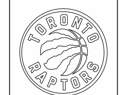 440x330 Toronto Raptors Coloring Pages, Toronto Raptors Colouring Pages