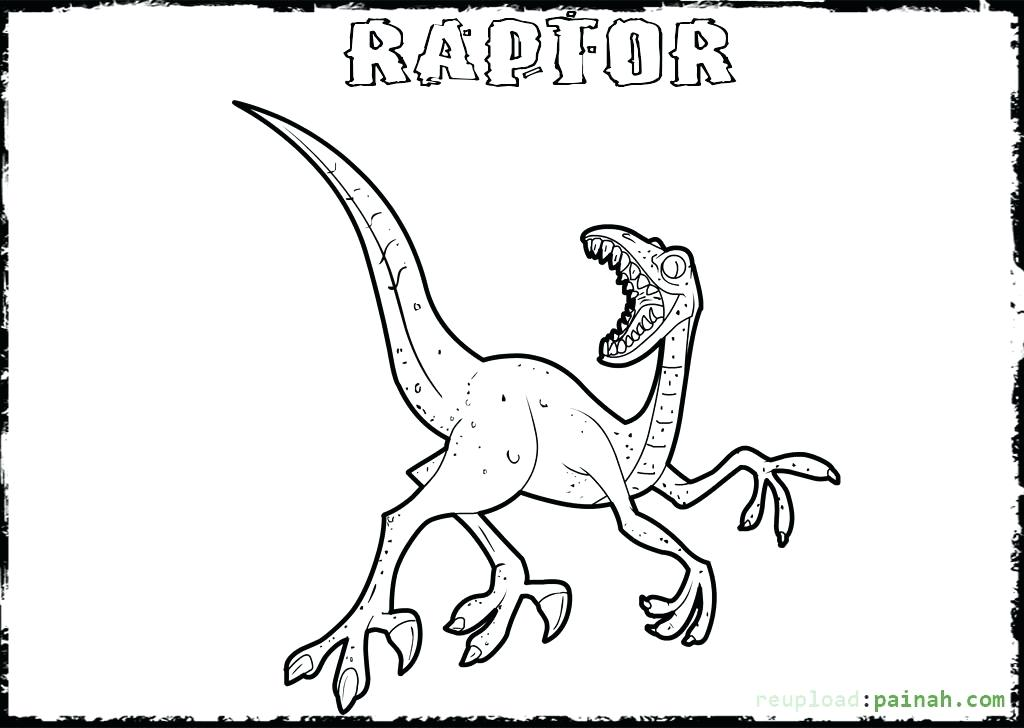 1024x728 Raptor Coloring Pages Raptor Coloring Pages Download And Print