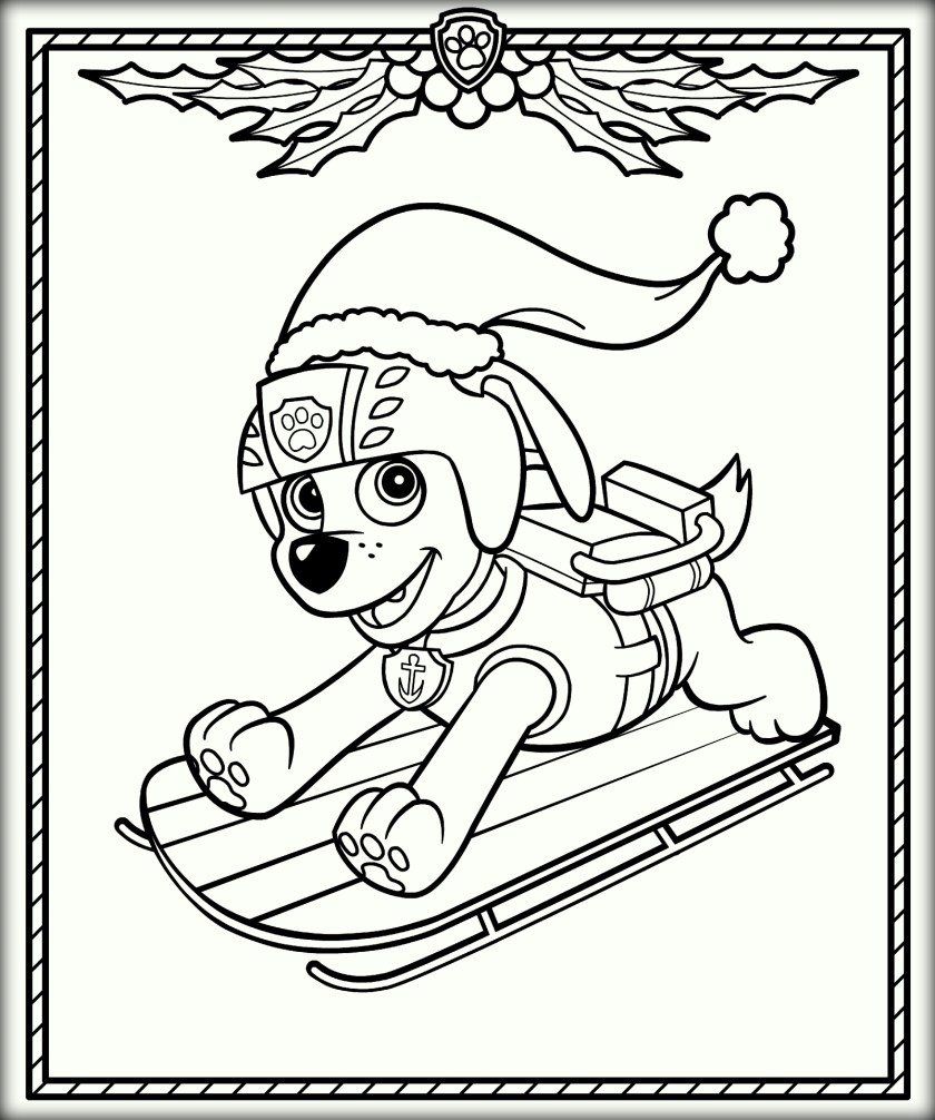 840x1006 Ryder Coloring Pages