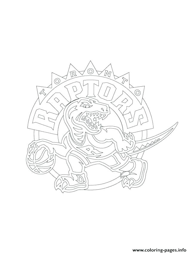 640x853 Nba Logo Coloring Pages