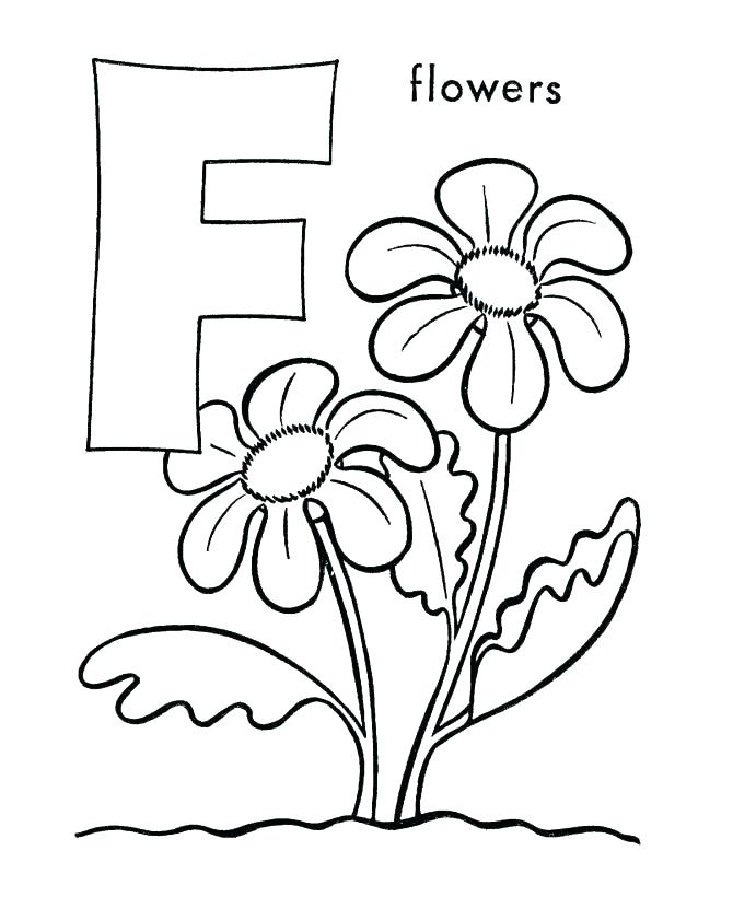670x820 Letter Coloring Pages Printable Kids Coloring Letter W Coloring
