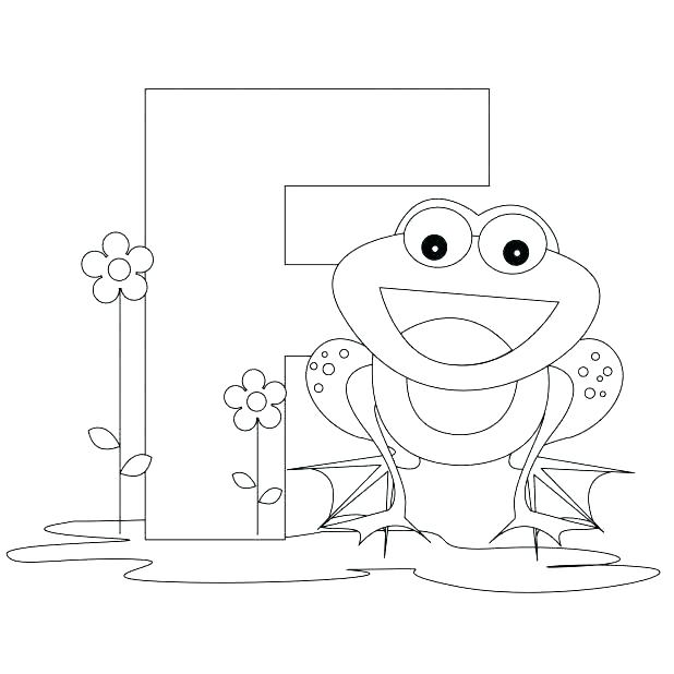 618x618 Letter F Coloring Page Letter R Coloring Pages For Toddlers F