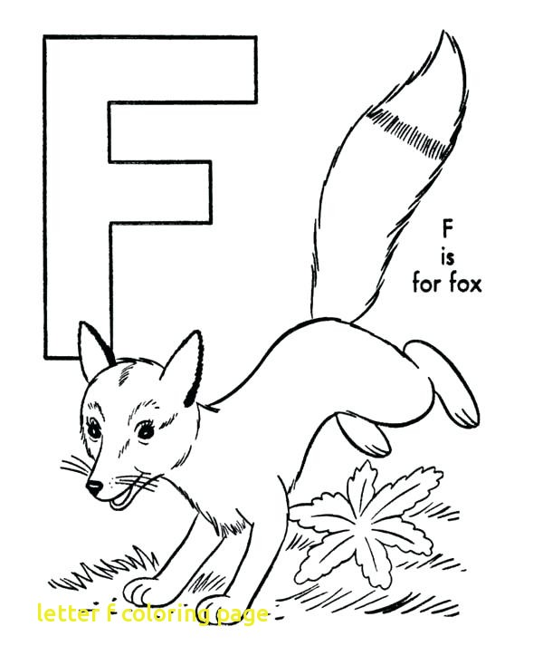 600x734 Letter F Coloring Page With Letter F Coloring Pages Letter F