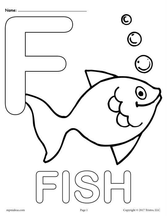 541x700 Letter F Coloring Page Letter F Alphabet Coloring Pages Free