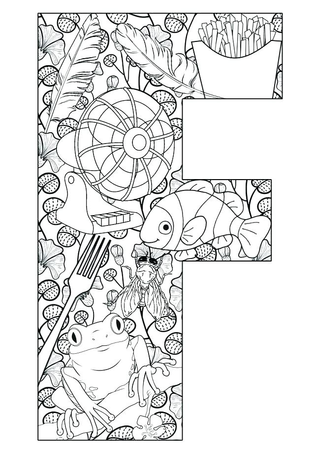 640x912 Letter F Coloring Pages Free Letter F Is For Farmer Coloring Page