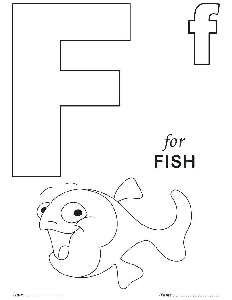 738x954 Preschool Coloring Pages Alphabet