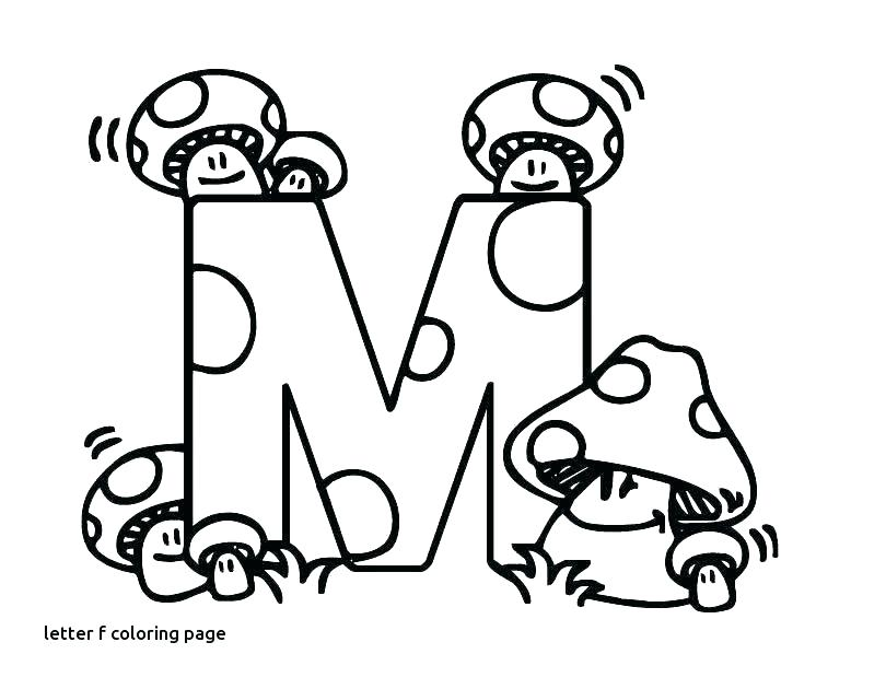 810x630 F Coloring Page F Coloring Page Letter M Coloring Page Letter M