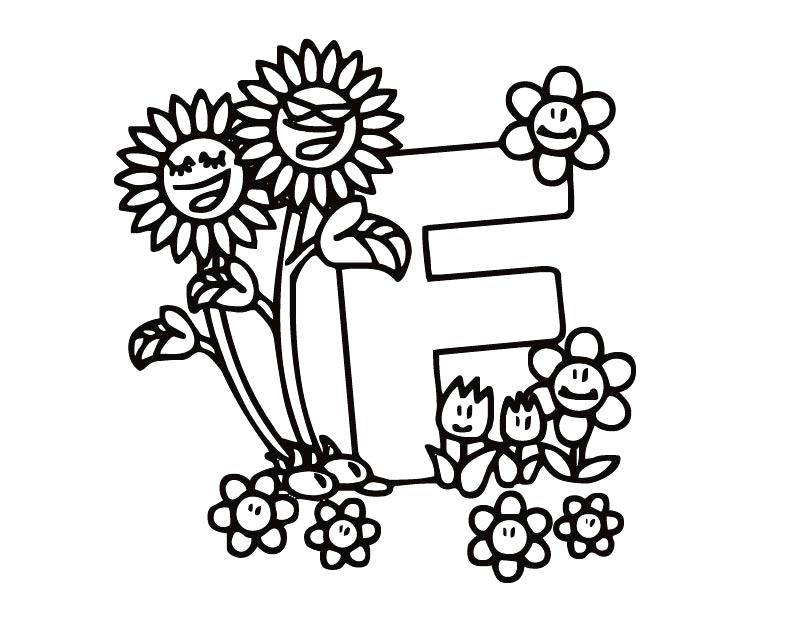 810x630 F Coloring Pages Free Printable Letter F Coloring Pages Coloring
