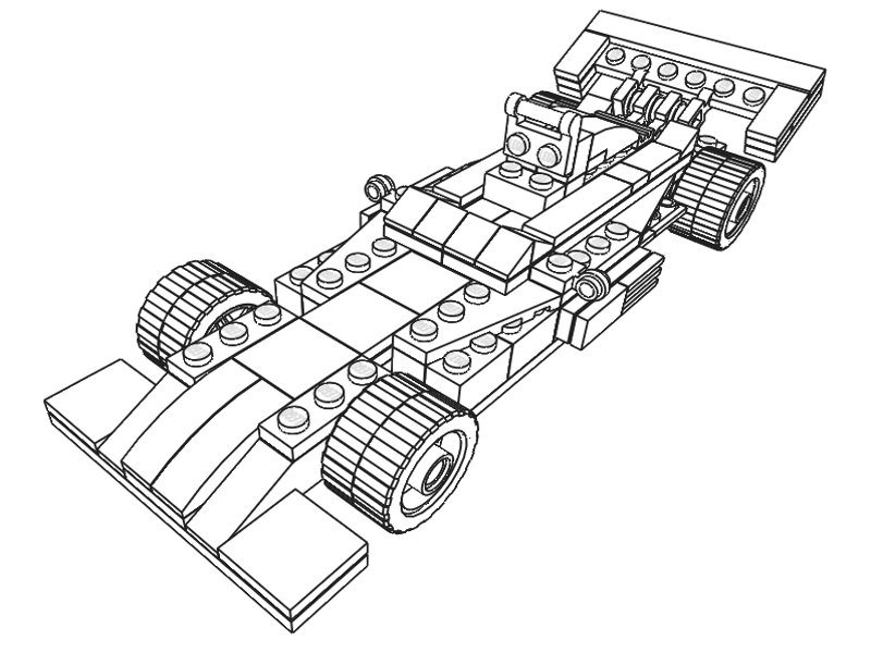 800x600 Lego Models Colouring Lego Racing Car Downloads, Lego