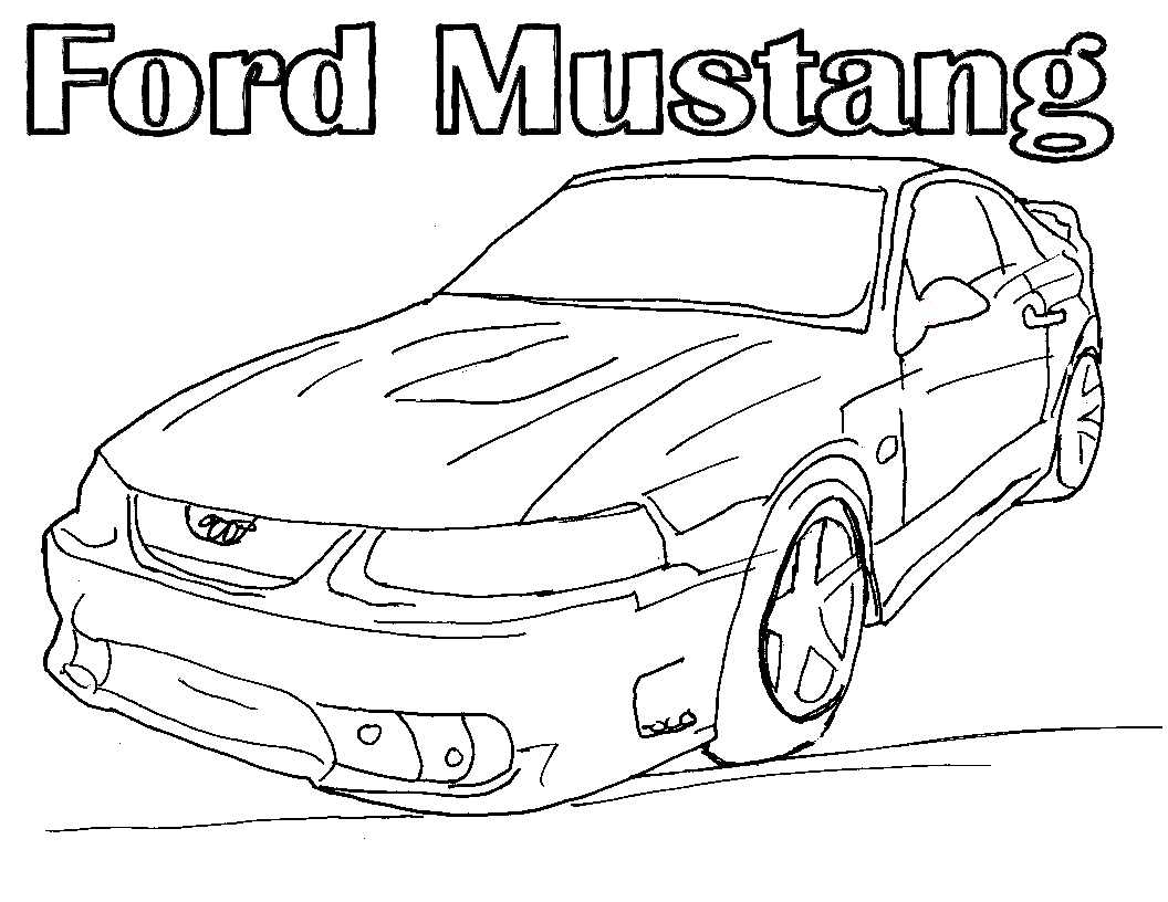 1056x816 Ford Coloring Pages