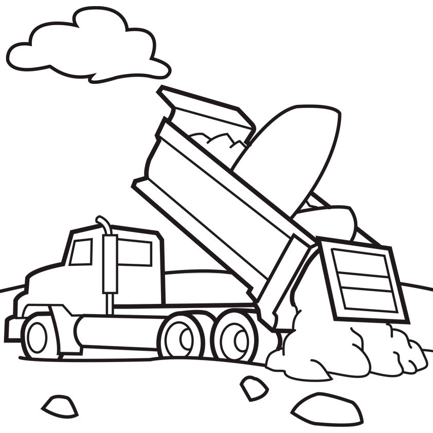 842x842 Ford Coloring Page Elegant Fire Truck Drawing