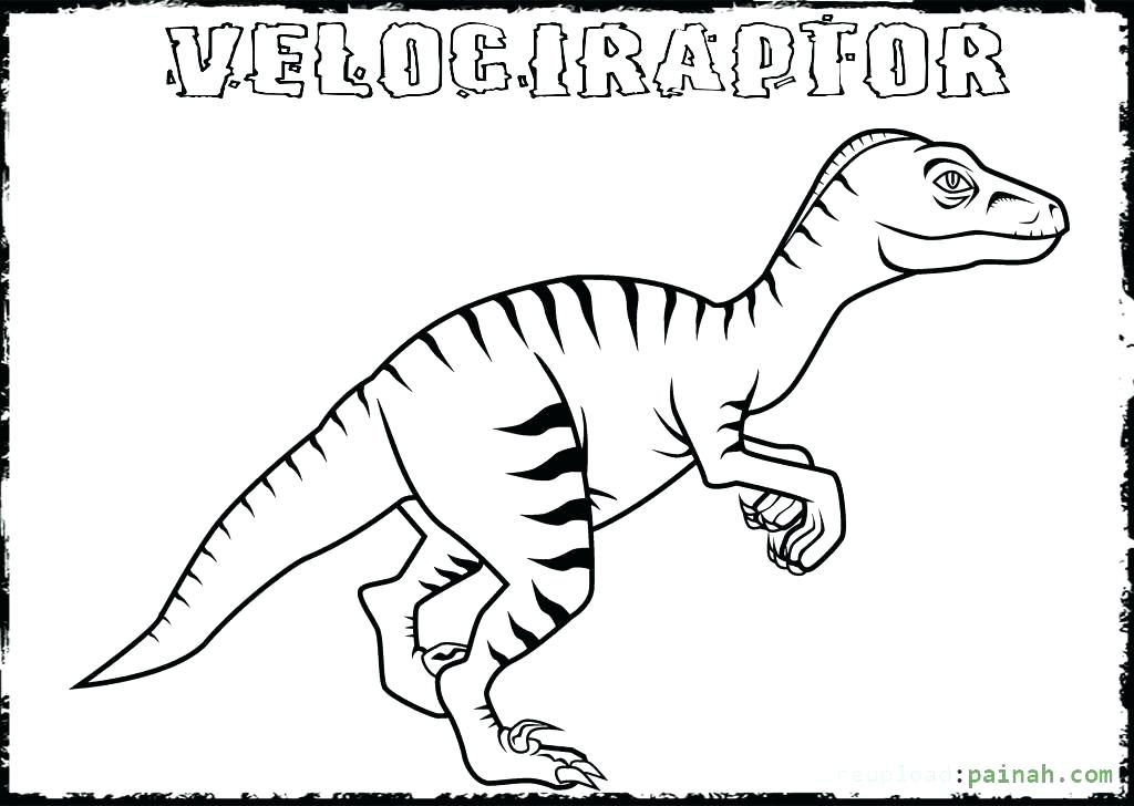1024x728 Raptor Coloring Pages