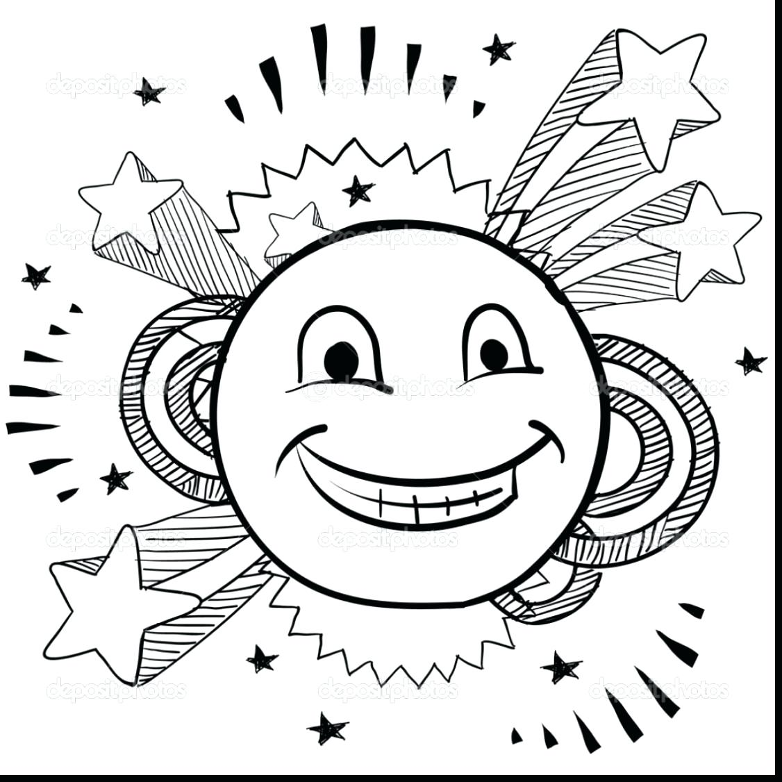 1126x1126 Free Printable Smiley Face Coloring Pages For Kids With Regard