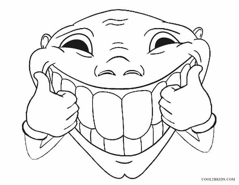 773x600 Funny Coloring Pages Printable Funny Coloring Pages For Kids