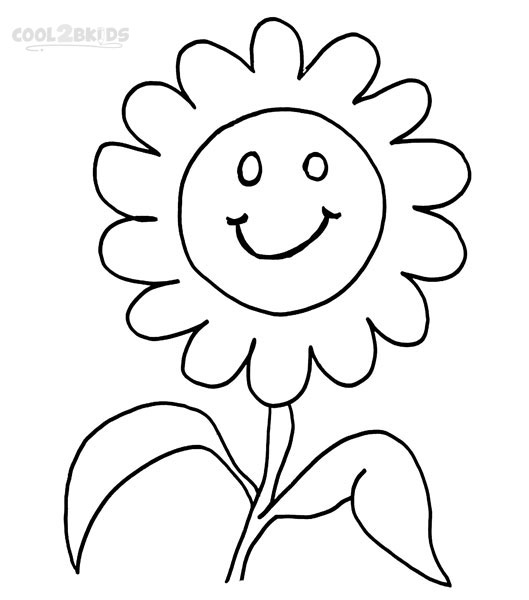 529x600 Printable Smiley Face Coloring Pages For Kids