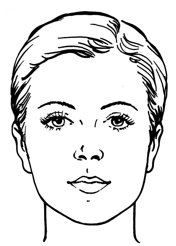 700x979 Coloring Pages Of Faces Coloring Pages Faces Face Coloring Page