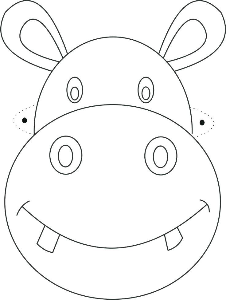 Face Mask Coloring Pages At Getdrawings Com Free For Personal Use