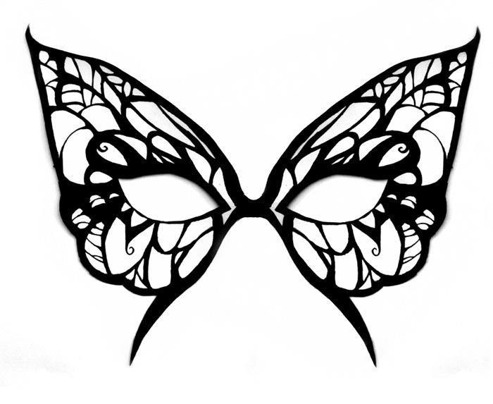 700x573 Animal Mask Template