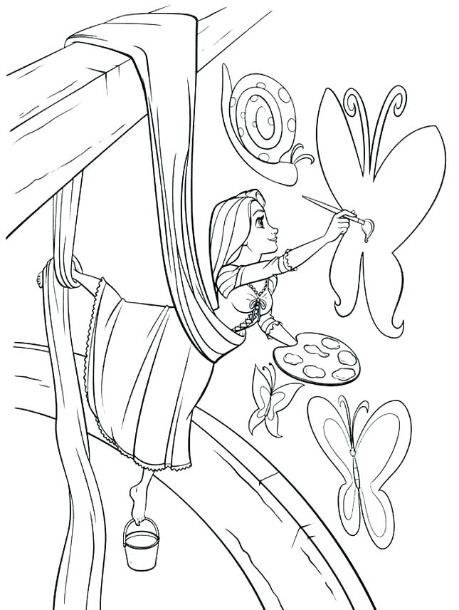 645x856 Paint And Coloring Painting Coloring Pages Princess Paint Online
