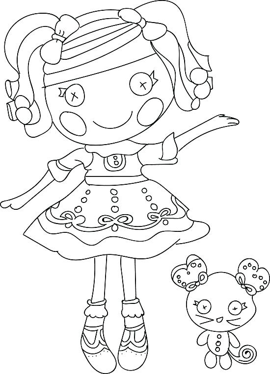 550x763 Lalaloopsy Coloring Pages Coloring Page Coloring Pages Coloring