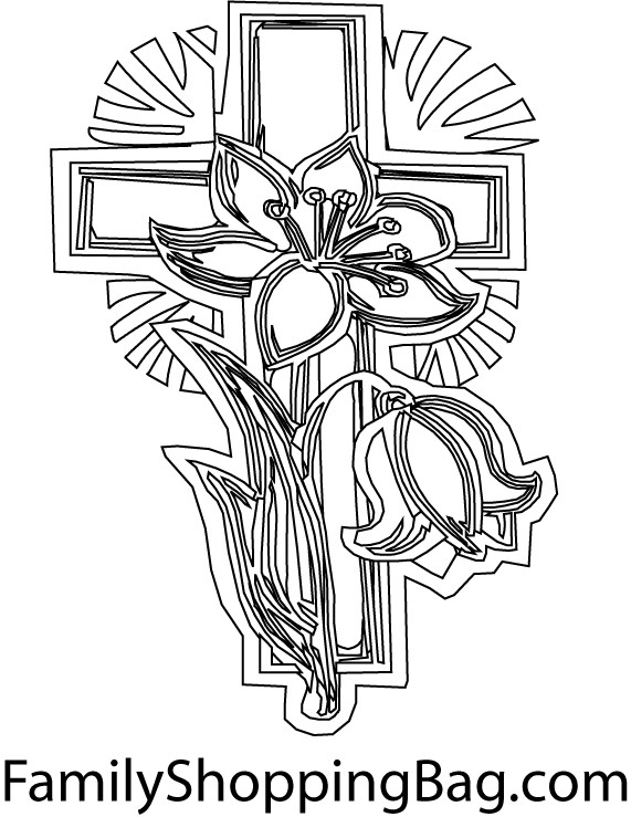571x739 Cross Color Page Coloring Pages Share On Facebook Sheets