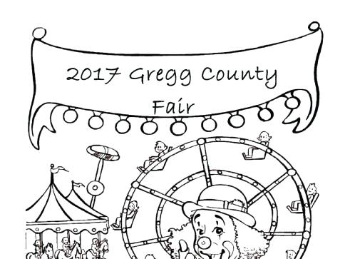 484x363 Fair Coloring Pages Stupefying County Fair Coloring Pages Contest