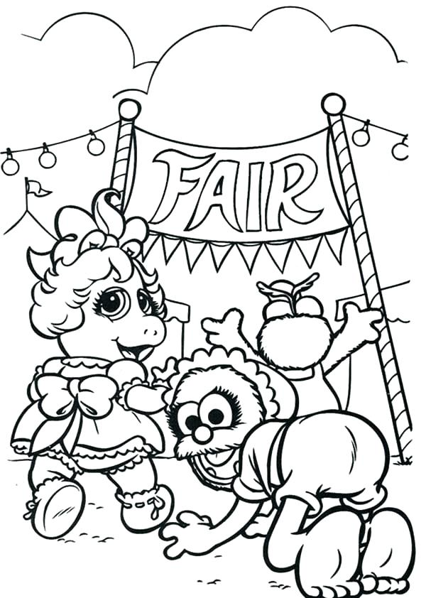 600x842 County Fair Coloring Pages Coloring Pages Free Printable County