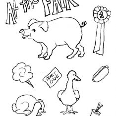 234x234 County Fair Coloring Pages For Kids