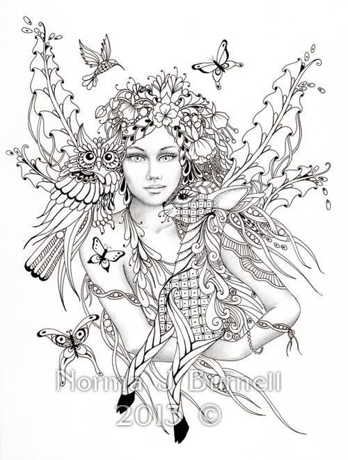 500x662 Fairy Of The Forest