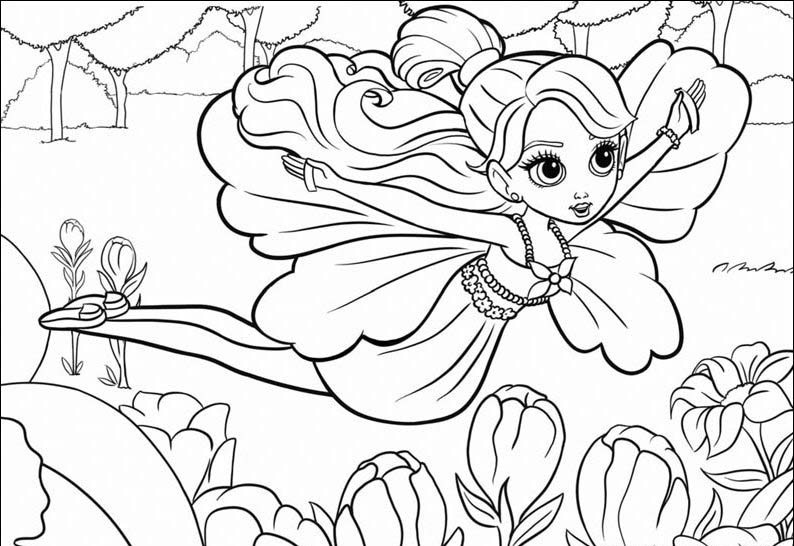 794x546 Printable Coloring Pages For Girls