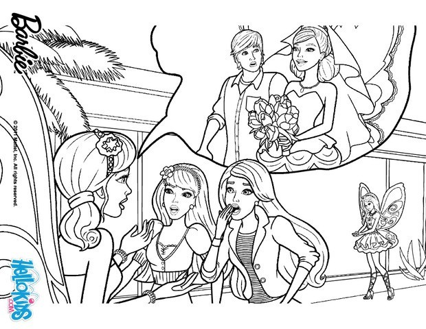 620x480 Barbie A Fairy Secret Coloring Pages