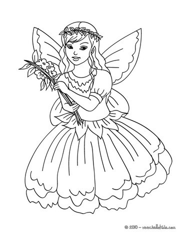 364x470 Fairy Coloring Pages For Kids Fairy Coloring Pages Fairy World