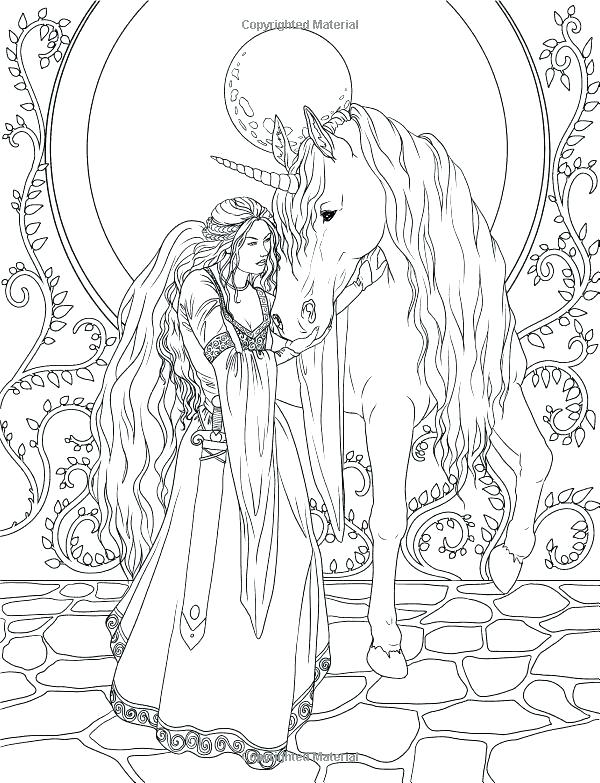 600x783 Fairy Coloring Page