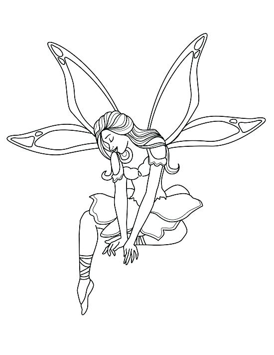550x711 Fairies Coloring Pages Printable Tooth Fairy Coloring Pages Me