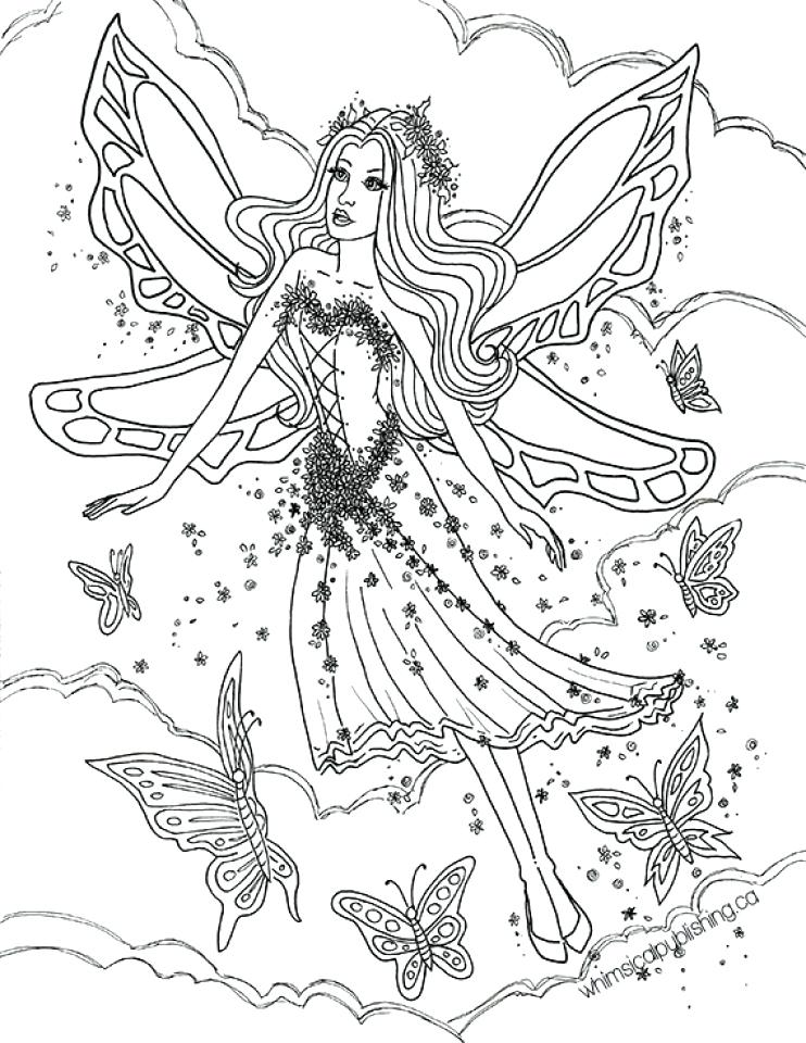 742x960 Colouring Fairies Fairy Coloring Pages Printable Fairy Coloring